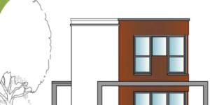 Haus_Modellzeichnung